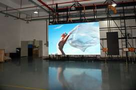Full color video displaiy smd advertising glass window led wall