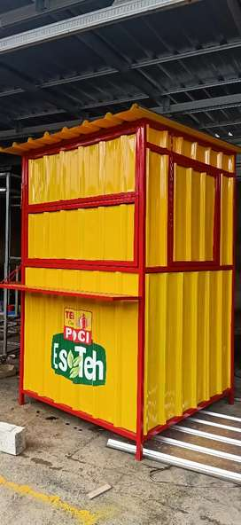 Container booth 120x120x200