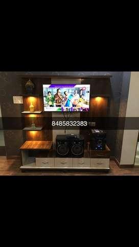 Tv unit 6x6 with LED light