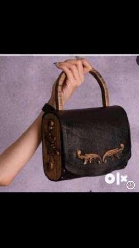 New Learher bag
