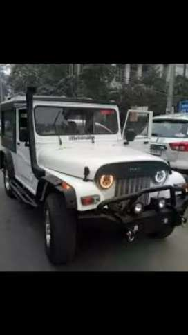 Mahindra turbo modifed ac jeep