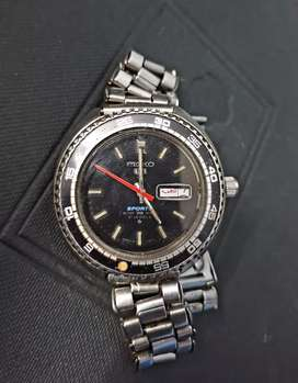 Vintage seiko rally divers automatic watch