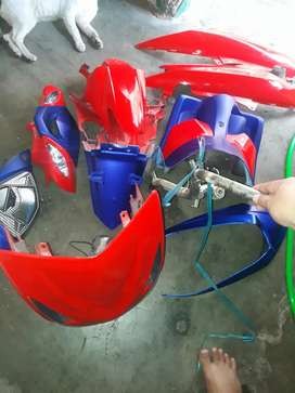 Jual body mio Soul MX model street racing