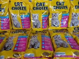 Dry food kucing Cat Choize kitten salmon 1kg murah grosir