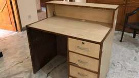 Office cum Computer table counter with drawers