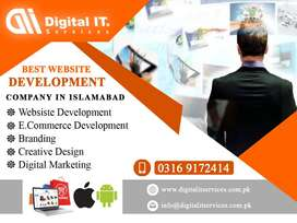 Web Development in Islamabad - Web Design - Web Hosting - SEO Services
