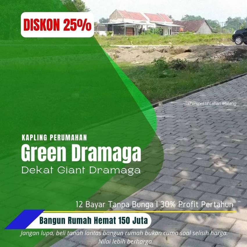 Strategis! Tanah Kavling Dramaga-Bogor, SHM Per Unit
