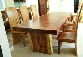 Meja makan jati 2555