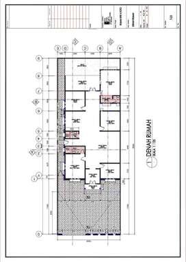 Desain Rumah IMB autoCAD 2D & 3D