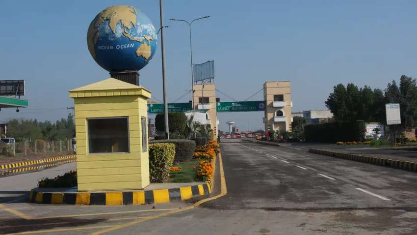 Lahore Motorway City is fully developed society 0