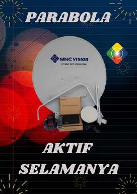 Pasang Parabbola Mini, MNC Vision, Gratis Pemasangan, Bergaransi