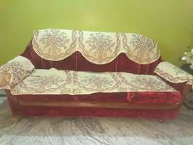 Three Sitter Sofa with cover