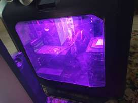 Gaming pc with lcd