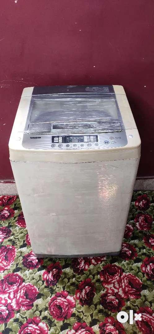 Gently used automatic washing machine