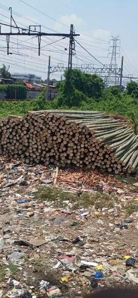 Jual dolken bambu kayu bangunan