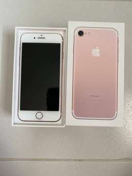 iPhone 7 with box and excellent condition