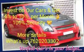 Get 100% Free Car or 6%to10% fix per month earn