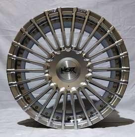 Jual velg racing HSR Ring 16 Cocok untuk mobil avanza, Livina, Calya,