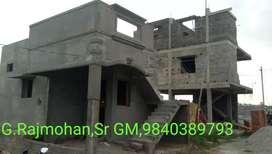 INDEPENDENT Villa HOUSE CMDA APPROVED In KUNDRATHUR Near NANDHAMPAKKAM