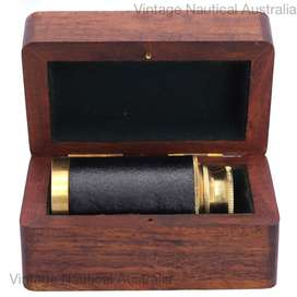 Telescope – Pocket with wooden Box