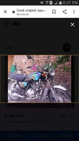 Suzuki japani 150 cc original good and overall engine new condition