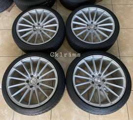 Vossen R18 (Belang 8-9) Ban 225/40 Civic,Stream,Mercy,Accord dll