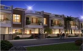 vedanta city duplex house & beautification project in raipur