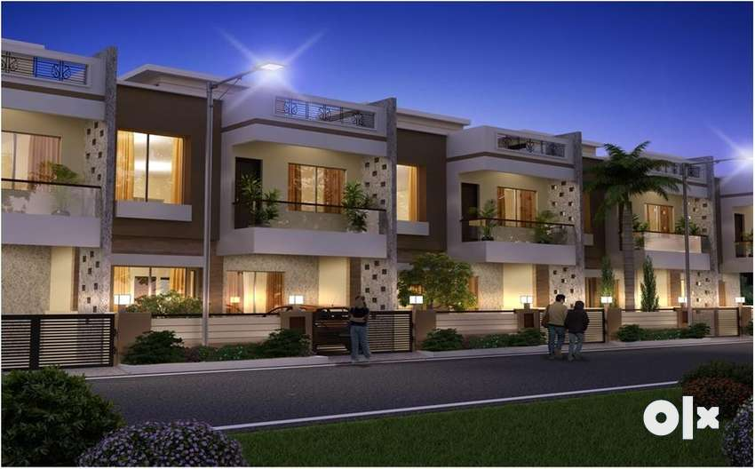 vedanta city duplex house & beautification project in raipur 0