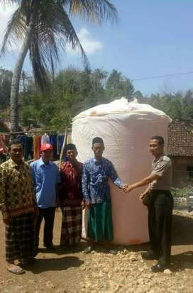 Gudang tandon air klaten toren 5000 liter 3000 bahan plastik pvc