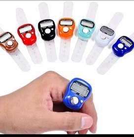 Alat Hitung Digital Tasbih Digital Elektronik Jari Counter Mini