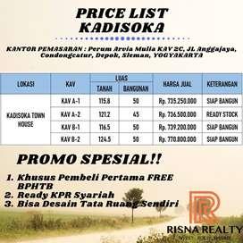 Dijual Cepat : Rumah Baru Dekat Kampus UKRIM Yogyakarta