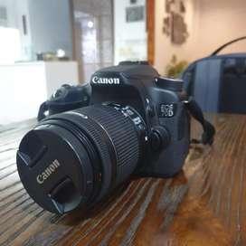 Kamera Canon EOS 70D Wifi Fullset 3 Lensa Original