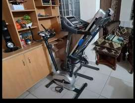 Treadmill America fitness 2hp with exercise Cycle