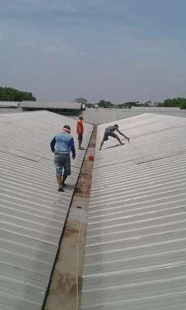 Jasa pasang talang gudang dan kantoran dan renofasi atap galfalum dll