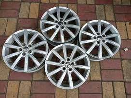 """VW Vento 16"""" Brand New 4 Alloy wheels for sale"""