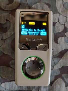 Transcend 2GB MP3 player / Voice Recorder in good condition.