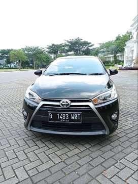 (TDP 25jt) Toyota Yaris G AT 2017 Black