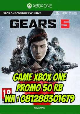 Game xbox one promo 50 rb