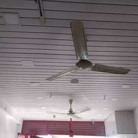 Shop main door glass and fibre ceiling for sale. 30000