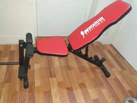 Multi Bench and barbell rod