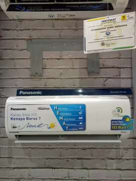 AC PANASONIC 1PK INVERTER TYPE RS9UKP