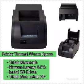 Printer Qposs thermal 58mm Khusus Komputer dan Laptop
