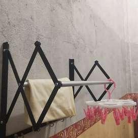 *Hanger Tempel Kamar Mandi 2 Lipat *