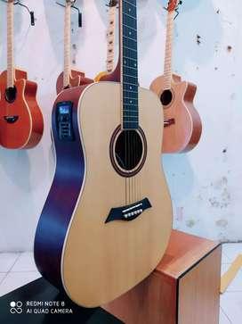 Gitar original dame akustik elektrik