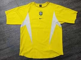 Jersey bola brazil 2002