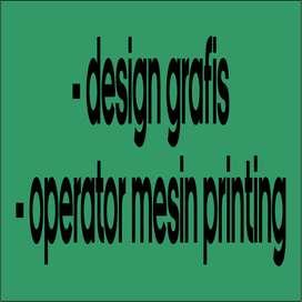 Design Grafis dan Operator Mesin Printing