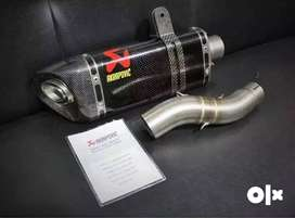 New imported Akrapovic exhaust for motorcycle