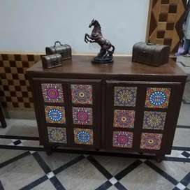Tv stand/console/ iron stand