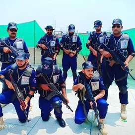 Required security Guards & Supervisor