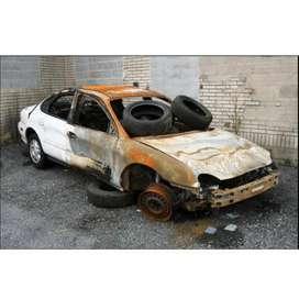 Accidental scrap cars